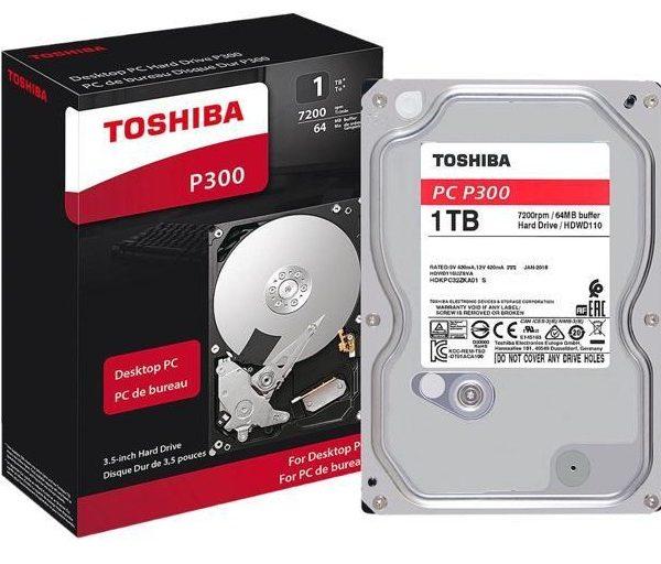 هارد دیسک توشیبا 1TB P300